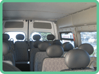 Seating Inside Our Minibuses
